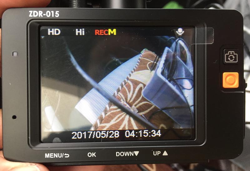 車初心者でもドライブレコーダー(前後カメラ)をアクアに取り付ける事が出来た話【ZDR-015】