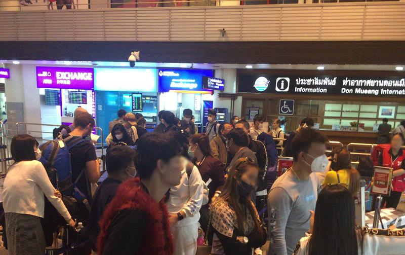 コロナウイルス流行中にタイへ旅!タイの空港や街の様子について