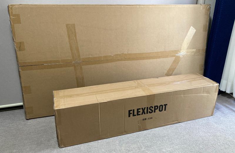 FLEXISPOT E3&カーブ型天板導入!【組み立て編】